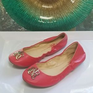 "Rock & Republic ""Bono Red"" Ballet Flats"
